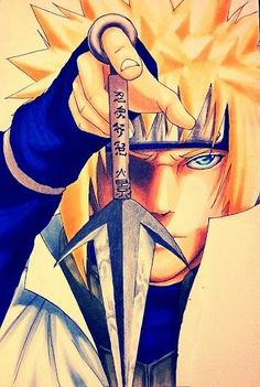 Minato #Naruto #anime                                                                                                                                                                                 Mais