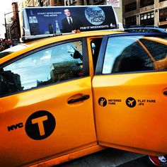 Yellow NYC Taxi