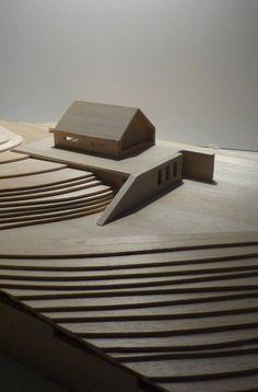 model. shapes. landscape.