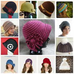 Diversidades: patrones gratis de crochet, amigurumi y manualidades: MÁS DE 20 GORROS Y SOMBREROS DE INVIERNO A CROCHET
