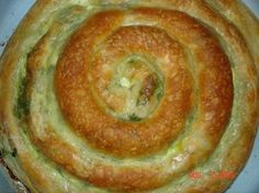 Zeljanica - spinach pita/pastry http://www.belgradian.com/bon-appetit/main-dishes/