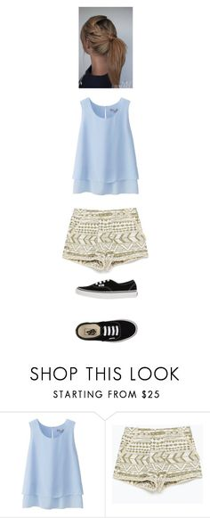 """""""Sulley Asks You Out"""" by maryvarleyrox ❤ liked on Polyvore featuring Uniqlo, Zara and Vans"""