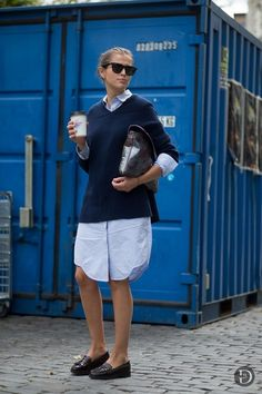 Oversize tshirt with cardigan