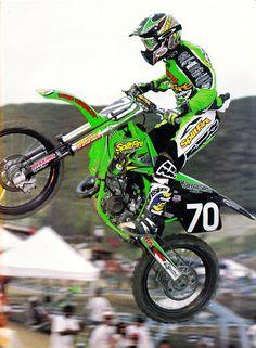 Ricky Carmichael 125cc kawazaki