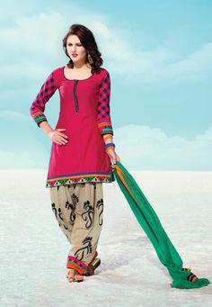 USD 101.76 Pink Silk Resham Work Punjabi Salwar Kameez  34227 Punjabi Salwar Suits, Anarkali Suits, Salwar Kameez, Patiala Pants, Churidar, Indian Suits, Indian Dresses, Indian Wear, Punjabi Fashion