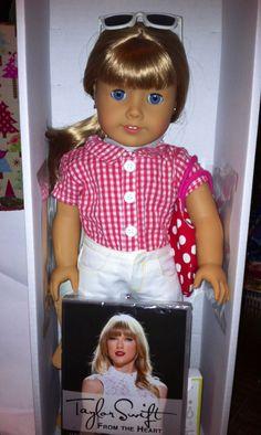 American Girl Doll #51 as Taylor Swift