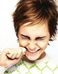 """Emma Watson fits my """"Adorable-ness"""" category perfectly!"""