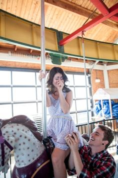 Rochelle and Dustins Carousel Marriage Proposal – Loverly Wedding Proposals, Marriage Proposals, Got Married, Getting Married, Our Wedding, Dream Wedding, Wedding Stuff, Engagement Stories, Engagement Ideas