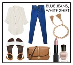 """""""Jeans & shirt"""" by grequin ❤ liked on Polyvore featuring rag & bone, ASOS, MICHAEL Michael Kors and Deborah Lippmann"""