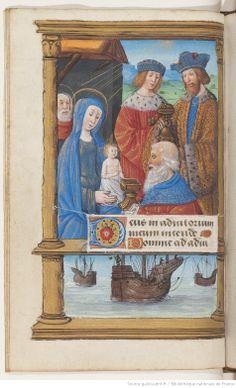 Horae (Troyes) [Heures à l'usage de Troyes] Auteur : Maître du Spencer 6 (14..-15..). Enlumineur Date d'édition : 1475-1525 Type : manuscrit Langue : Latin