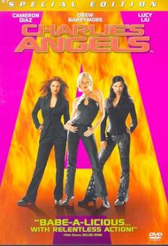 Charlie's Angels movie Drew Barrymore, Cameron Diaz and Lucy Liu