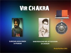 09 Sep 65 Operation Riddle.For their conspicuous courage & determination in the face of enemy.Awarded  #http://VIRCHAKRApic.twitter.com/J4UxaRJyPN #IndianArmy #Army