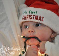 Christmas photos for babies