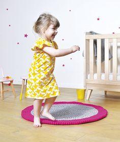 Tapis chambre denfant et bébé: Neo mix pink