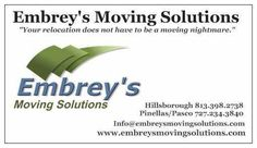 Contacting Embrey's Moving Solutions is the smartest move you can make.