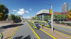 Barranquilla En Desarrollo de Ciudad Proyecto Tranvía Calle 30
