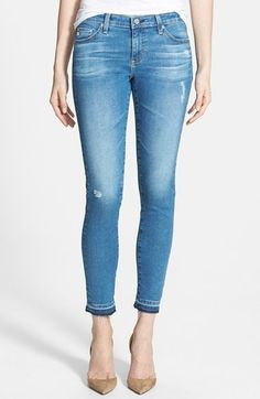 AG+Ankle+Skinny+Leggings+(20+Year+Grind)+available+at+#Nordstrom