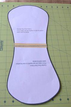 contour burp cloth pattern and tutorial