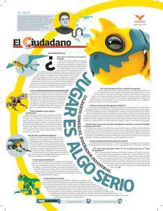 """Diseño Editorial, periódico """"El Ciudadano"""""""