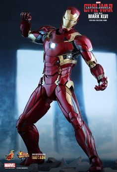 Hot Toys : Captain America: Civil War - Iron Man Mark XLVI 1/6th scale Collectible Figure