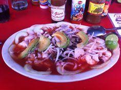 Mariscada Sinaloense @ Mariscos El Güero. Guasave, Sinaloa.