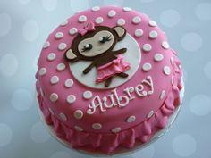 Monkey cake #mimissweetcakesnbakes #monkeycake #girlbirthdaycake