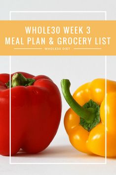 Whole 30 | Paleo | Healthy Eating | Healthy Diet | Whole Foods | Meal Planning | Grocery List