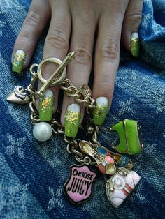 Juicy couture nails cool nails