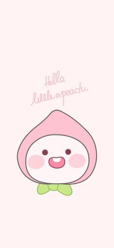 Cute Pastel Wallpaper, Kawaii Wallpaper, Cartoon Wallpaper, Little Peach, Kakao Friends, Friends Wallpaper, Cute Wallpapers, Animal Crossing, Hello Kitty