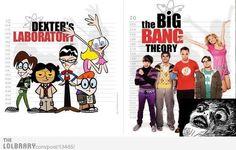 Big Bang vs Dexter's Lab