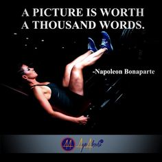 A picture is worth a thousand words.- Napoleon Bonapert  http://ayeakoda.com  #fitness #fitfam #inspirationalquotes #branding #fitnessgirls #bodybuilding #fitnessgilesmotivation #work #success #grind #startup #motivational #moneymaker #money #inspiredaily