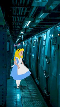 Innocent/Naive Alice in Wonderland Wallpaler Dark Disney, Disney Magic, Disney Art, Alice Sweet Alice, Alice In Wonderland Aesthetic, Modern Disney Characters, Pop Art Wallpaper, Twisted Disney, Disney Aesthetic