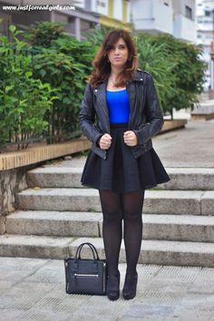 falda red, suiteblanco, look rockero, outfit rockero