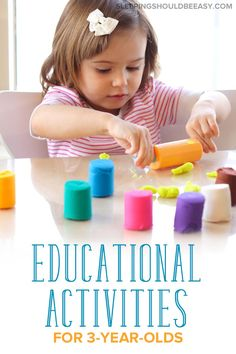Looking for things to do with your child? Check out these learning and educational activities for 3 year olds, perfect for at home or outdoors. Educational Activities For Toddlers, Physical Activities For Kids, 3 Year Old Activities, Library Activities, Preschool Activities, Preschool Printables, Play Based Learning, Learning Through Play, Kids Learning