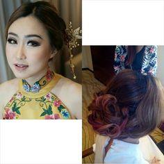 Chines new year hairdo