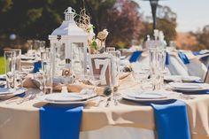 Vintage, elegant table decorations