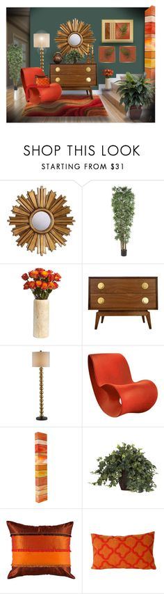 """Artist of the Month: Diane Mitchell @truthjc"" by kwaldrip ❤ liked on Polyvore featuring interior, interiors, interior design, home, home decor, interior decorating, Ethan Allen, Nearly Natural, Enzo and Jonathan Adler"