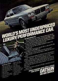 =-=1978 Datsun 810 ad