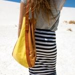Classic A-Line Tote | Yellow Camel