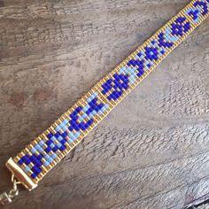 """15 mentions J'aime, 1 commentaires - GéraldineCbrt (@geraldinecbrt) sur Instagram : """"✨COBALT bracelet ✨Terminé ... DISPO ICI https://www.etsy.com/fr/listing/516803246/cobalt-…"""""""