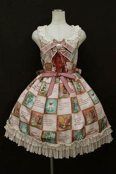 BABY, THE STARS SHINE BRIGHT / Ex libris the DOLLS lace ruffle jumper skirt - closet child online shop