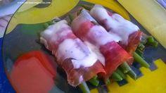 Involtini di prosciutto crudo | Cucina con Grazia http://www.cucinacongrazia.com/2015/02/secondi/involtini-di-prosciutto-crudo/