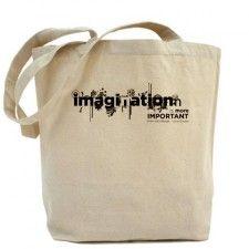 Imagination > Knowledge – Einstein Tote Bag