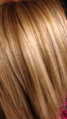 Multi blonde foils with Brown copper lo lights