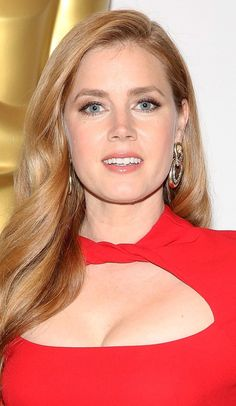 Amy Adams in revealing red