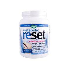 Nature's Way Metabolic ReSet Shake Mix Vanilla (1.4 Lbs)