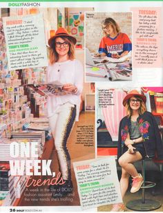 So much love for the Aussie mags, papers, blogs and websites flattering Bonds with the media attention.