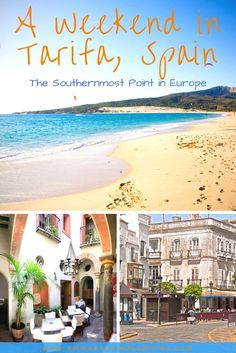 Weekend in Tarifa, Spain, the southernmost point in Europe. A Medieval Walled Town with beautiful Beaches, Kite Surfing, Tapas, Wine & ferry trips to Africa
