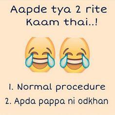 Mara bapa ni bau odkhan! Kai kaam hoi to kejo. :p #TheGujjuGyan Pic by @rishiamin Tag your friends having Moti Odkhan :p