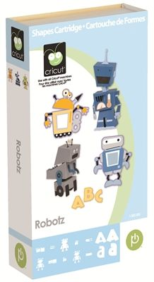 Cricut® Robotz Cartridge - Cricut Shop